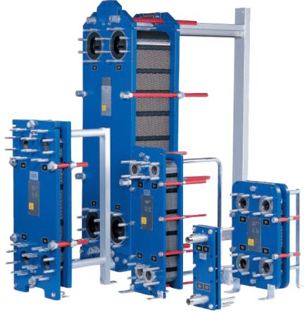 Gasket plate heat exchangers