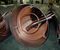 Copper  tube Heat Exchanger