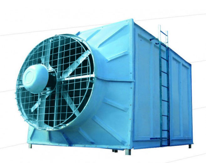 Single Cross Flow Cooling Towers