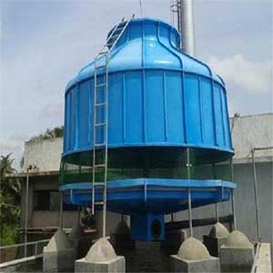 FRP Bottle Shaped Cooling Tower