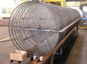 EM baffles heat exchangers