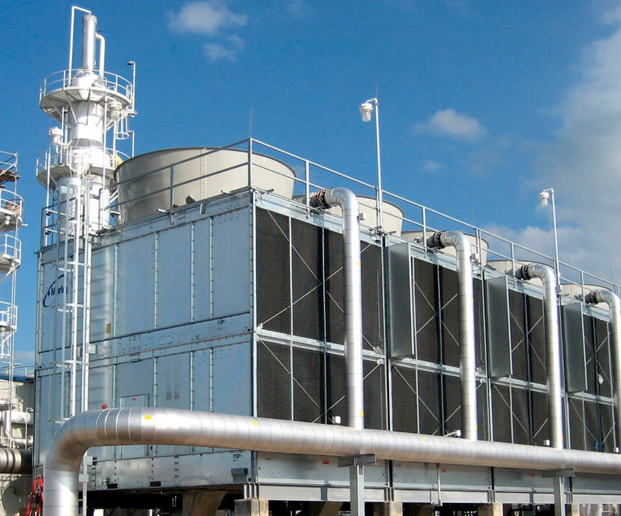 temperature loss cooling towers