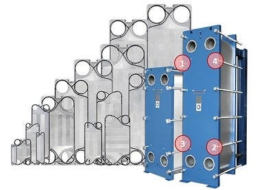 PHE Heat Exchangers with removable plates