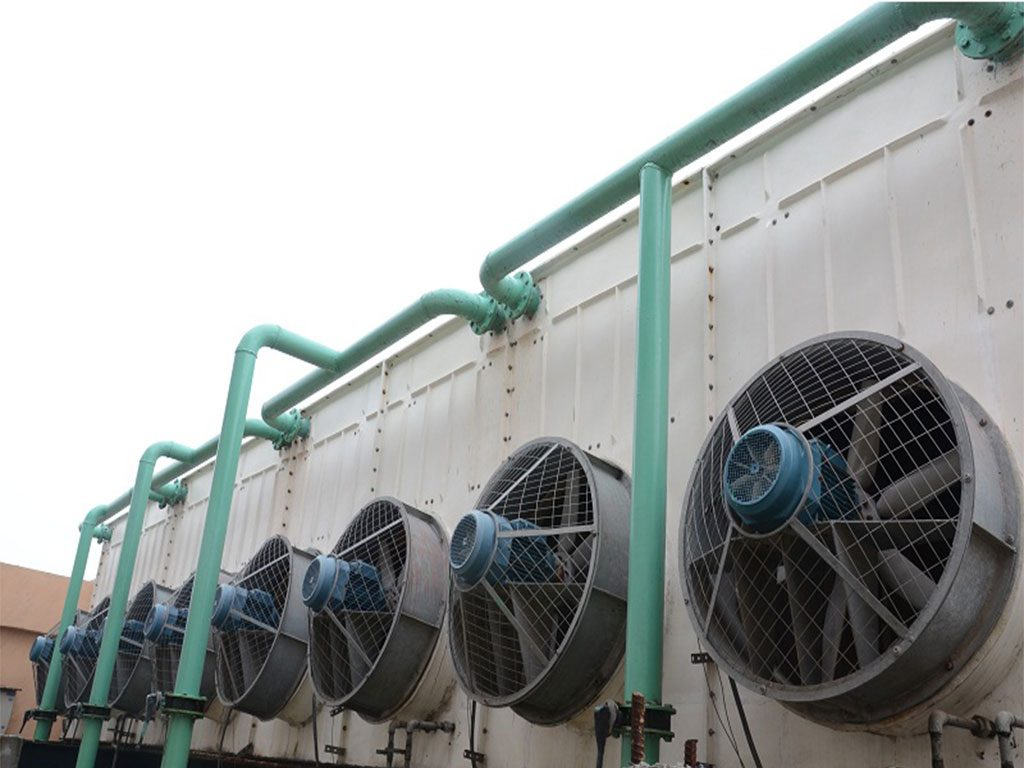 Forced Draft Cooling Towers