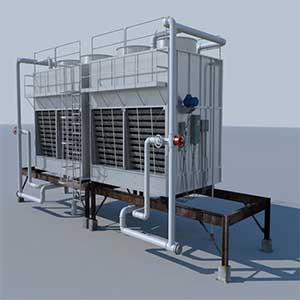 Closed Circuit Hybrid Cooling Towers
